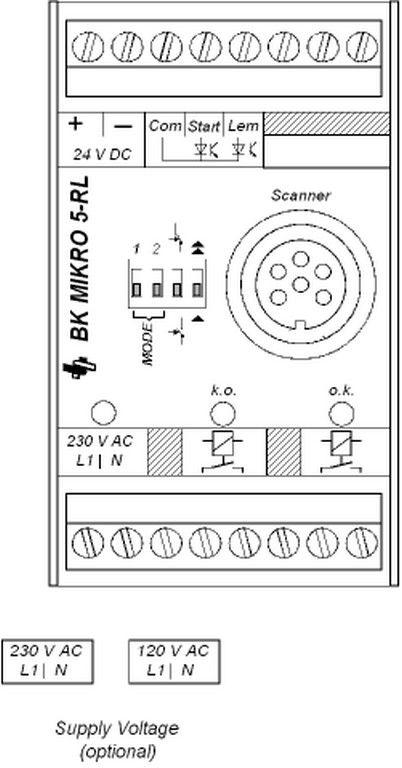 BK Mikro 5-RL Controller